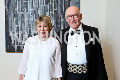Linda Lichtenberg Kaplan and Beau Kaplan. Photo © Tony Powell. 2014 Phillips Collection Gala. May 16, 2014