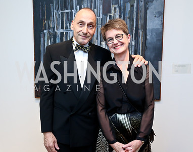Thomas Krahenbuhl and Dorothy Kosinski. Photo © Tony Powell. 2014 Phillips Collection Gala. May 16, 2014