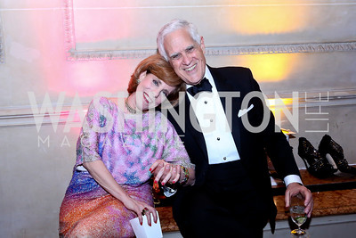 Patricia Sagon, Chuck Miller. Photo © Tony Powell. 2014 Phillips Collection Gala. May 16, 2014