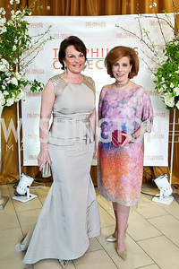 Grace Bender, Patricia Sagon. Photo © Tony Powell. 2014 Phillips Collection Gala. May 16, 2014