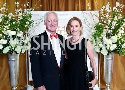 Joel Friedman, Jenny Bilfield. Photo © Tony Powell. 2014 Phillips Collection Gala. May 16, 2014