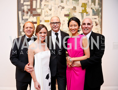 Mark and Sally Ein, Reed Krakoff, Emily and Mitch Rales. Photo © Tony Powell. 2014 Phillips Collection Gala. May 16, 2014
