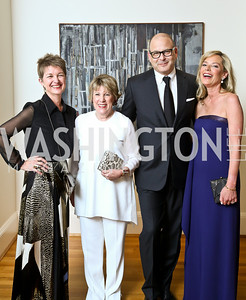 Dorothy Kosinski, Linda Lichtenberg Kaplan, Reed Krakoff, Mariella Trager. Photo © Tony Powell. 2014 Phillips Collection Gala. May 16, 2014