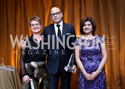 Dorothy Kosinski, Reed Krakoff, Kay Kapoor. Photo © Tony Powell. 2014 Phillips Collection Gala. May 16, 2014