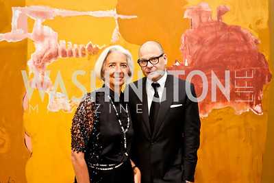 Christine Lagarde, Reed Krakoff. Photo © Tony Powell. 2014 Phillips Collection Gala. May 16, 2014