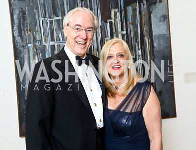 George and Trish Vradenburg. Photo © Tony Powell. 2014 Phillips Collection Gala. May 16, 2014