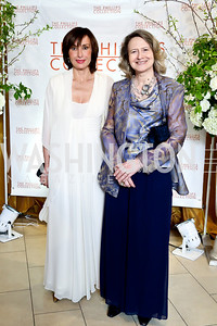 Monaco Amb. Maguy Maccario Doyle, Laura Denise Bisogniero. Photo © Tony Powell. 2014 Phillips Collection Gala. May 16, 2014