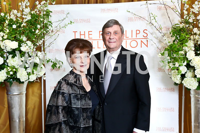 Arlene and Bob Kogod. Photo © Tony Powell. 2014 Phillips Collection Gala. May 16, 2014