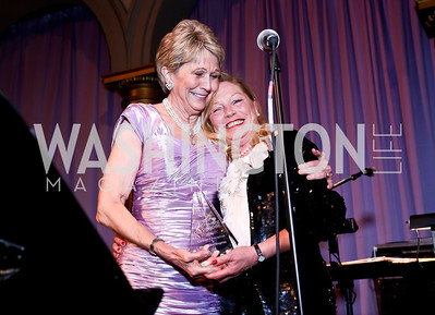Bo Aldige, Ellen Noghes. Photo by Tony Powell. 2014 Prevent Cancer Gala. Building Museum. March 7, 2014