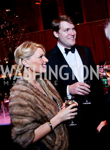 Katherine Kennedy Allen and Grant Allen. Photo by Tony Powell. 2014 Prevent Cancer Gala. Building Museum. March 7, 2014