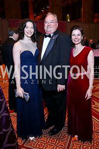 Kelle Long, Rep. Billy Long and Barbara Long. Photo by Tony Powell. 2014 Prevent Cancer Gala. Building Museum. March 7, 2014