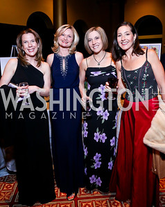 Carly Vilona, Alise Troester, Whitney Montgomery, Christine Burgeson. Photo by Tony Powell. 2014 Prevent Cancer Gala. Building Museum. March 7, 2014