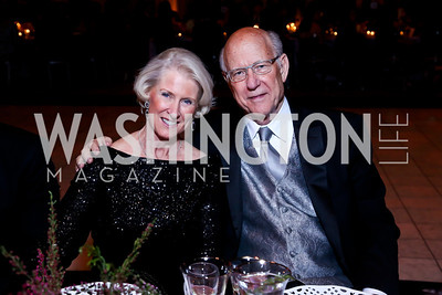 Franki Roberts and Sen. Pat Roberts. Photo by Tony Powell. 2014 Prevent Cancer Gala. Building Museum. March 7, 2014