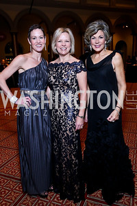 Cancer survivors Kathryn Rand, Bo, Joyce Gates, Greta Kreuz. Photo by Tony Powell. 2014 Prevent Cancer Gala. Building Museum. March 7, 2014