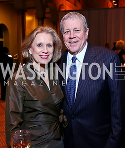 Betty Ann Tanner and former Rep. John Tanner. Photo by Tony Powell. 2014 Prevent Cancer Gala. Building Museum. March 7, 2014