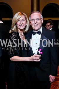 Kim Dorgan and Former Sen. Byron Dorgan. Photo by Tony Powell. 2014 Prevent Cancer Gala. Building Museum. March 7, 2014
