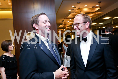 Rory Cooper, Jonathan Karl. Photo by Tony Powell. 2014 Radio and Television Correspondents Association Dinner. Marriott Marquis. June 12, 2014