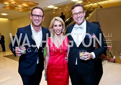 Matt Dornic, Dana Bash, Benny Johnson. Photo by Tony Powell. 2014 Radio and Television Correspondents Association Dinner. Marriott Marquis. June 12, 2014