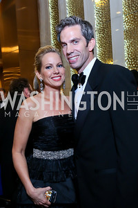 FOX News' Shannon Bream and Sheldon Bream. Photo by Tony Powell. 2014 Radio and Television Correspondents Association Dinner. Marriott Marquis. June 12, 2014