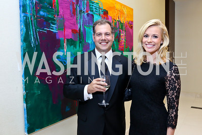 Joshua Levy, Pamela Brown. Photo by Tony Powell. 2014 Radio and Television Correspondents Association Dinner. Marriott Marquis. June 12, 2014