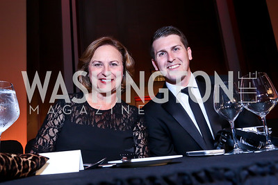 Sen. Deb Fisher, Frank Thorp. Photo by Tony Powell. 2014 Radio and Television Correspondents Association Dinner. Marriott Marquis. June 12, 2014