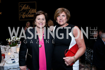 Doro Bush Koch, Kelli Magnarelli. Photo by Tony Powell. 2014 Great Ladies Luncheon and Fashion Show. Ritz Carlton. April 1, 2014