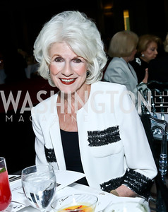 Diane Rehm. Photo by Tony Powell. 2014 Great Ladies Luncheon and Fashion Show. Ritz Carlton. April 1, 2014