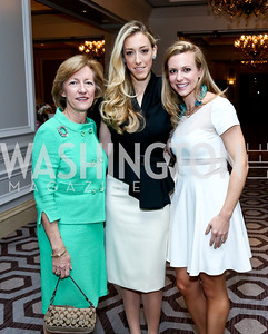 Eileen Bakke, Kristen Lund, Margaret Bakke. Photo by Tony Powell. 2014 Great Ladies Luncheon and Fashion Show. Ritz Carlton. April 1, 2014