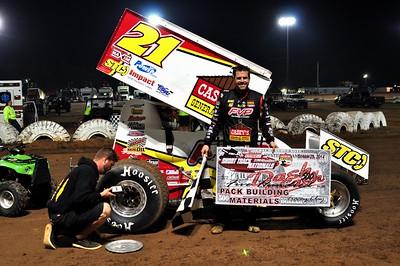 #21 Brian Brown Dash-4-Cash Winner Saturday Evening