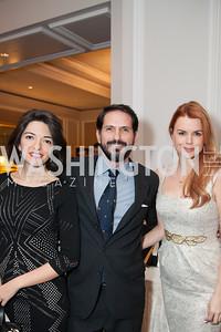Gayane Chichakyan, Alberto Parada, Margaret Howell