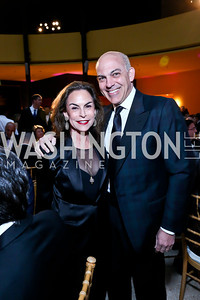 Melissa Moss and Jonathan Silver. Photo by Tony Powell. Signature Theatre's Annual Sondheim Gala. Italian Embassy. April 7, 2014