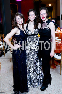 Actors Susan Derry, Angela Miller, Shayna Blass. Photo by Tony Powell. Signature Theatre's Annual Sondheim Gala. Italian Embassy. April 7, 2014