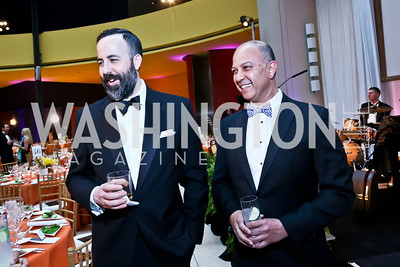 David Ostroff, Akbar Masood. Photo by Tony Powell. Signature Theatre's Annual Sondheim Gala. Italian Embassy. April 7, 2014