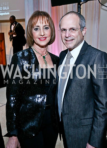 Bonnie and Kenneth Feld. Photo by Tony Powell. Signature Theatre's Annual Sondheim Gala. Italian Embassy. April 7, 2014