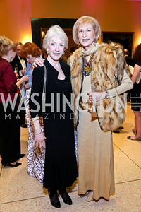 Joan Mulcahy, Lola Reinsch. Photo by Tony Powell. Signature Theatre's Annual Sondheim Gala. Italian Embassy. April 7, 2014