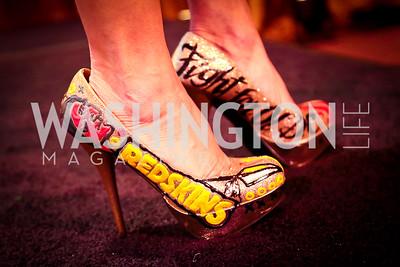 Lynne Greene. Photo by Tony Powell. 2014 Sneaker Ball. National Building Museum. September 9, 2014
