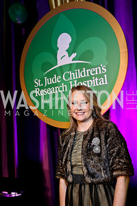 Former patient Sarah-Marshall Thompson. Photo by Tony Powell. 2014 St. Jude's Gourmet Gala. Building Museum. February 25, 2014