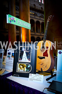 Auction Items. Photo by Tony Powell. 2014 St. Jude's Gourmet Gala. Building Museum. February 25, 2014