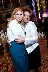 Isabel Lobo, Gladys Abi-Najm. Photo by Tony Powell. 2014 St. Jude's Gourmet Gala. Building Museum. February 25, 2014