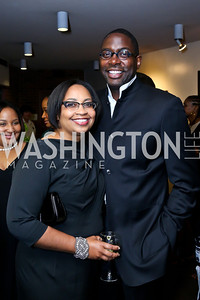 Robyn and Andre Wells. Photo by Tony Powell. 2014 Step Afrika Gala. Catholic University. May 29, 2014
