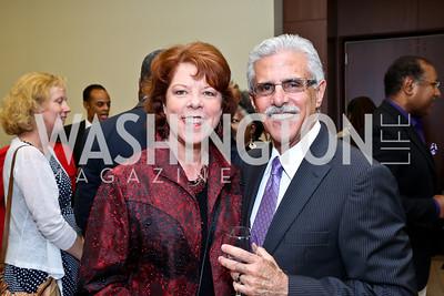 Joanne and Rafael Urrutia. Photo by Tony Powell. 2014 Step Afrika Gala. Catholic University. May 29, 2014