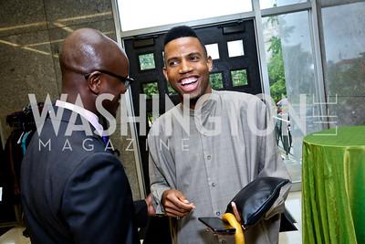 Dwayne Brice. Photo by Tony Powell. 2014 Step Afrika Gala. Catholic University. May 29, 2014