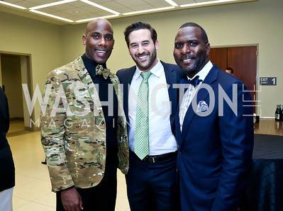 Allen Orr, Steven LaBrie, Wesley Thomas. Photo by Tony Powell. 2014 Step Afrika Gala. Catholic University. May 29, 2014