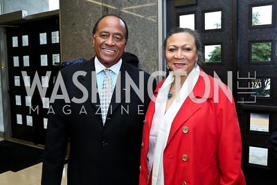 Connie and Patricia Williams. Photo by Tony Powell. 2014 Step Afrika Gala. Catholic University. May 29, 2014