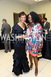 Wynette Williams, Dana Warner. Photo by Tony Powell. 2014 Step Afrika Gala. Catholic University. May 29, 2014