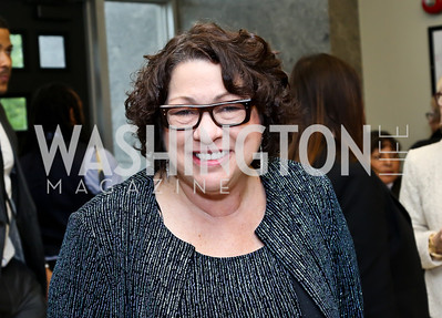 Justice Sonia Sotomayor. Photo by Tony Powell. 2014 Step Afrika Gala. Catholic University. May 29, 2014