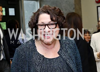 Justice Sonia Sotomayor. Photo by Tony Powell. 2014 Step Afrika Gala. Catholic University. May 29, 2014