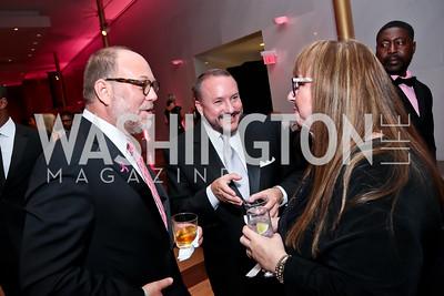 Jimmy Williams, Daren Thomas, Diane Blagman. Photo by Tony Powell. 2014 Susan G. Komen Honoring the Promise Gala. Kennedy Center. September 18, 2014