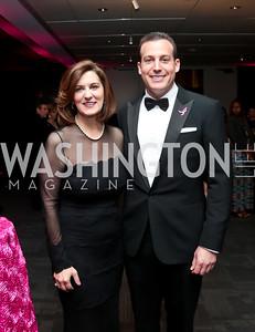 Victoria Reggie Kennedy, Eric Brinker. Photo by Tony Powell. 2014 Susan G. Komen Honoring the Promise Gala. Kennedy Center. September 18, 2014