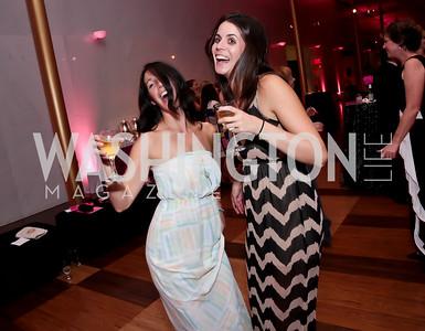 Melanie Gehman, Rebecca Kellett. Photo by Tony Powell. 2014 Susan G. Komen Honoring the Promise Gala. Kennedy Center. September 18, 2014